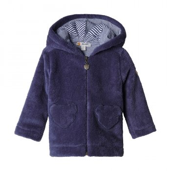 Steiff - Fleece Jacke blau
